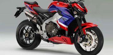 เผยภาพ render All New Honda CB1000RR-R เนกเกตเวอร์ชั่นพื้นฐานเดียวกันกับ CBR1000RR-R!