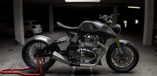 """ชมภาพ Royal Enfield """"Y2"""" ผลงานดัดแปลงของ Neev Motorcycle สำนักแต่งจากประเทศอินเดีย"""
