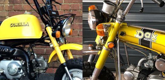 Honda เตรียมคืนชีพ GORILLA และ DAX สองรถมินิไบค์อีกครั้ง ที่จะมาในพิกัด 125cc?!!