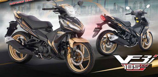 เปิดตัว New SYM VF3i 185cc 17.7 แรงม้า Gold Edition เคาะราคาประมาณ 62,000 บาท!