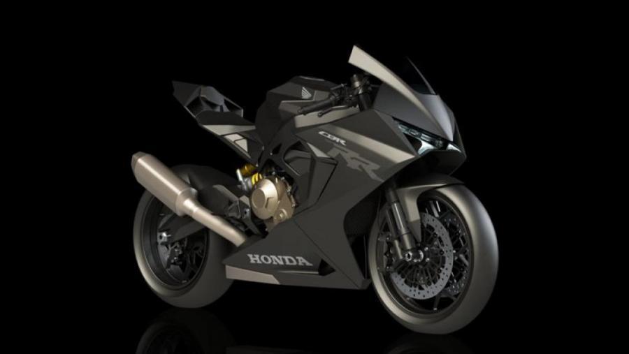 เรนเดอร์ตามจินตนาการ Honda CBR750R ที่อาจไม่มีอยู่จริง