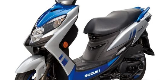 เปิดตัว Suzuki Swish 125 รถสกู๊ตเตอร์ Paddock MotoGP ในประเทศไต้หวัน