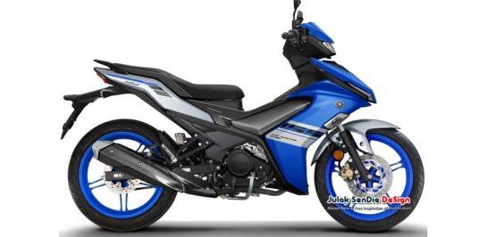 All New Yamaha Exciter 155 VVA เผยภาพ render แบบเต็มๆ คัน!