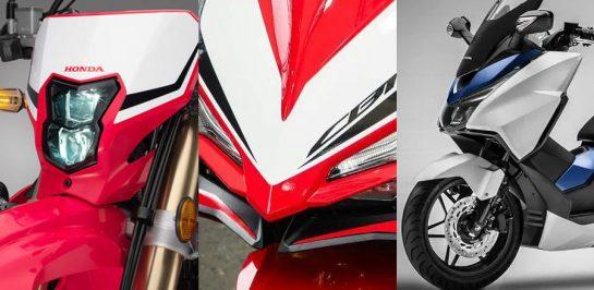 เจาะลึก 6 รถมอเตอร์ไซค์ Honda รุ่นใหม่ ที่เตรียมเปิดตัวในไทยก่อนสิ้นปี 2020 นี้!
