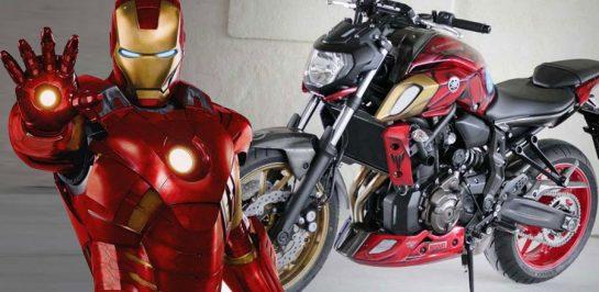เปิดตัว Yamaha MT-07 IRONMAN เวอร์ชั่น Marvel Avengers!