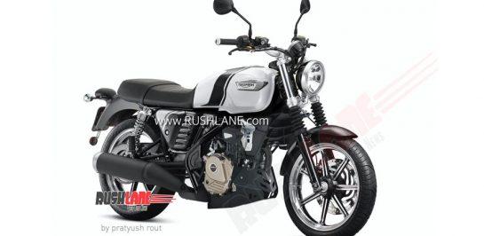 เผยภาพ render Triumph คลาสสิก 200cc คาดราคาต่ำกว่า 84,000 บาท!
