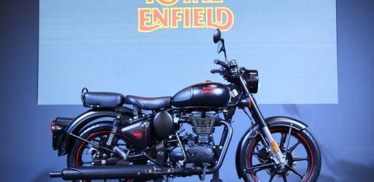 'รอยัล เอนฟิลด์' เปิดตัว 'คลาสสิก 500 สเตลท์ แบล็ค' สีใหม่ มาตรฐานไอเสียยูโร 4 ในงานมอเตอร์โชว์ ครั้งที่ 41