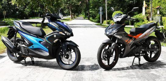 ทริป Yamaha King of 150 Class Yamaha EXCITER 150 & Yamaha Aerox 155