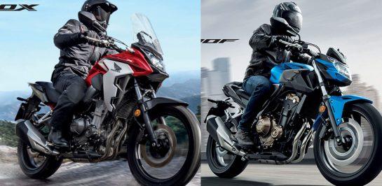 เปิดตัว New Honda CB500X และ New CB500F 2020 อย่างเป็นทางการในไทย!