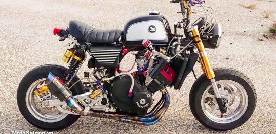 สุดจัด! Honda Monkey 250cc 4 สูบ ม้า 45 ตัว!