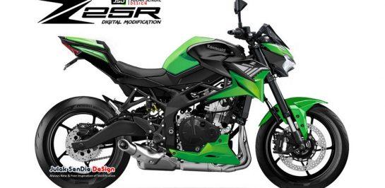 เผยภาพ render New Kawasaki Z25R 4 สูบ สปอร์ตเนกเกต!