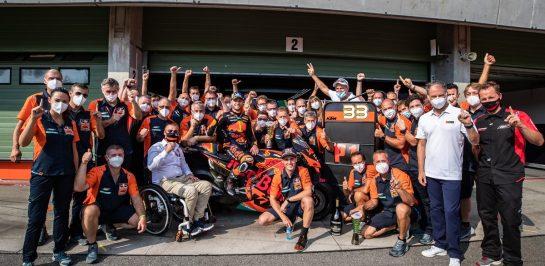 KTM กับความสำเร็จที่เป็นไปได้บน MotoGP