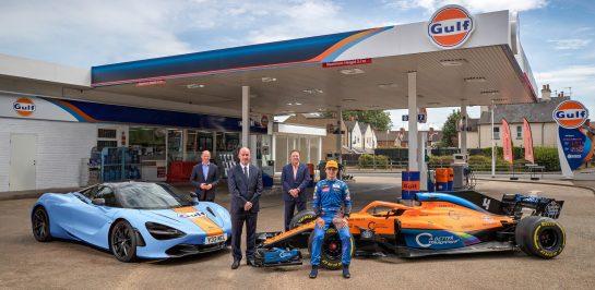 กัลฟ์ ประกาศจับมือเป็นพันธมิตรกับ McLaren สนับสนุนการแข่งขันรถ Formula  1 และ รถหรูซุปเปอร์คาร์ อย่างเป็นทางการตั้งแต่วันนี้เป็นต้นไป
