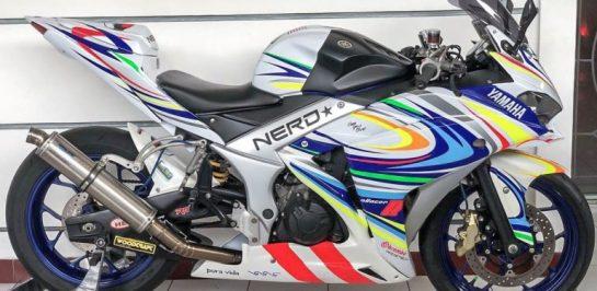 ทีมแข่งอินโดนีเซีย ปรับแต่ง Yamaha YZF-R25 เพื่อท้าชน Kawasaki ZX-25R