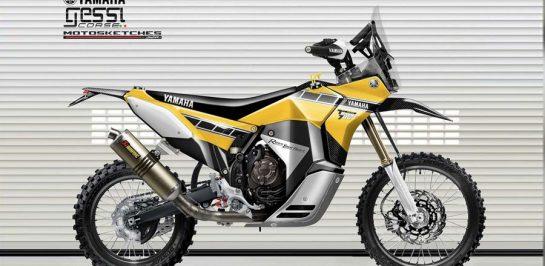 เผยภาพ Yamaha Ténéré 700 Rally Racer!