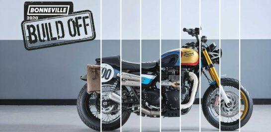 การแข่งขัน 2020 Triumph Bonneville Build-Off เปิดให้โหวตอย่างเป็นทางการแล้ว