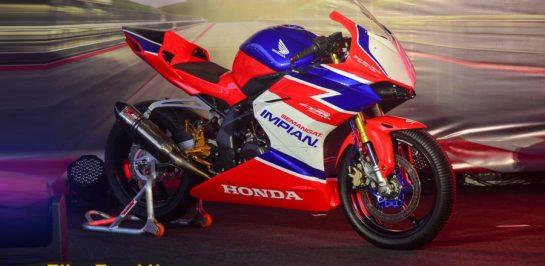 เปิดตัว Honda CBR250RR Racing Version สเปคสนามแข่ง เคาะราคา 226,000 บาท!
