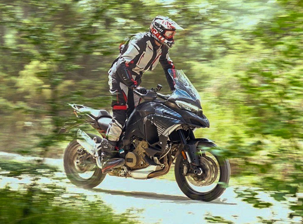 Ducati Multistrada V4 เริ่มต้นทดสอบออฟโรดแล้ว