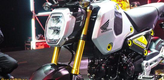 ฮอนด้าเปิดตัว New Honda GROM มินิไบค์ดีไซน์ใหม่ เครื่องยนต์ใหม่ ครั้งแรกของมอเตอร์ไซค์ที่ D.I.Y. ได้ด้วยตัวเองแบบไร้ขีดจำกัด