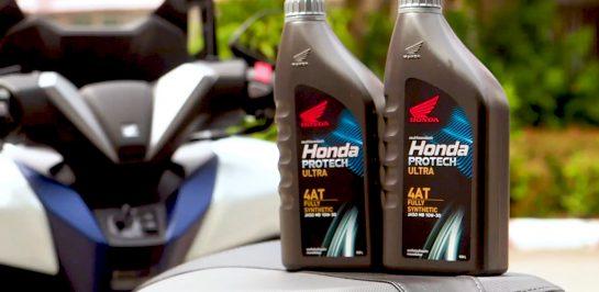ทดสอบรถ All New Forza 350 ของแอดมิน กับน้ำมันเครื่อง Honda Protech Ultra 4AT ผ่านการขับขี่เต็มรูปแบบ