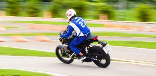 บรรยากาศการแข่งขันทักษะครูฝึกขับขี่ปลอดภัยฮอนด้า ครั้งที่ 18 รอบคัดเลือกระดับภูมิภาค ที่ศูนย์ฝึกขับขี่ปลอดภัย Safety Riding Park เชียงใหม่