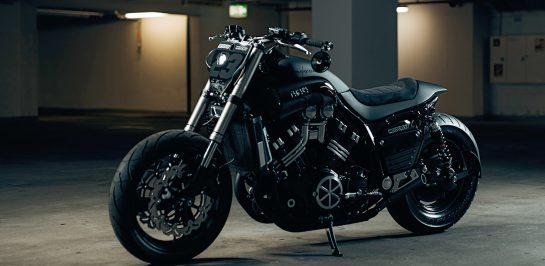 "Yamaha V-Max ""Urban Tracker"" ผลงานสุดเฉียบโดย Motocrew"