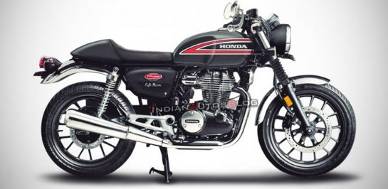 New Honda CB350 Cafe Racer เผยภาพ render!