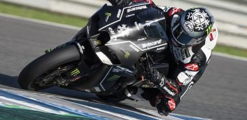2021 New Kawasaki Ninja ZX-10RR ฉายแสงที่ Jerez