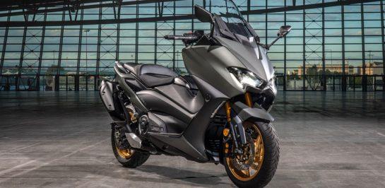 Yamaha เปิดตัว TMAX Tech Max สีใหม่ Tech Kamo และ Power Grey ครั้งแรกในเอเชียที่งานมอเตอร์เอ็กซ์โป