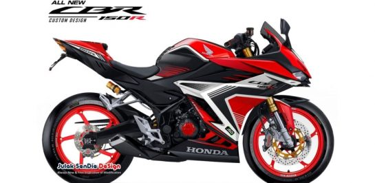 All New Honda CBR150R โฉมใหม่ เผยภาพ render เวอร์ชั่นแต่งเต็ม!