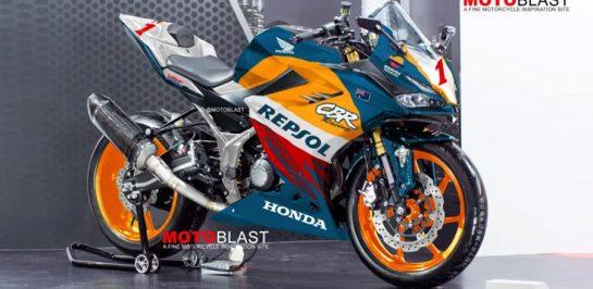 All New Honda CBR150R ภาพ render เวอร์ชั่น Repsol NSR!