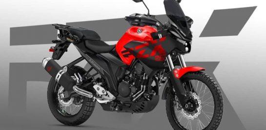 เรนเดอร์อย่างไม่เป็นทางการของ Yamaha FZ-X