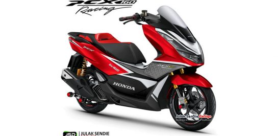 All New Honda PCX160 Racing เผยภาพ Render!