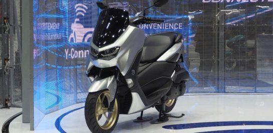 เปิดตัว All New Yamaha NMAX 155 Connected ในไทยอย่างเป็นทางการ Y-Connect Traction Control มาเต็ม!