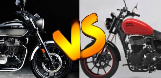2021 Honda CB350 H'ness VS 2021 Royal Enfield Meteor 350