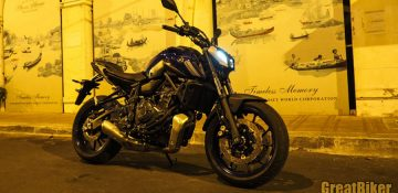 New Yamaha MT-07 ขับขี่ยามค่ำคืน ให้สมกับสโลแกน Dark Side of Japan!