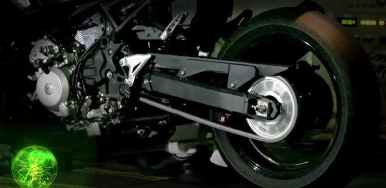 Kawasaki กับนวัตกรรมรถมอเตอร์ไซค์ Hybrid
