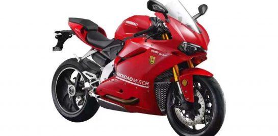 Moxiao 500RR รถมอเตอร์ไซค์ Copycat จากซุปเปอร์ไบค์ Ducati Panigale V4