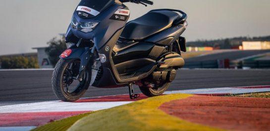 Yamaha NMax ยืนหนึ่ง Official Paddock Scooters MotoGP2021