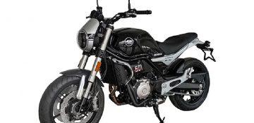 QJ Motor QJ-500 พื้นฐานใหม่ของ Benelli Leoncino 500