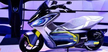 Yamaha EV สกู๊ตเตอร์ไฟฟ้าเปลี่ยนแบตฯ ได้ เผยภาพร่างเวอร์ชั่นวางขายจริงแล้ว!