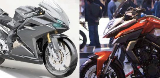 All New Honda 500 ซีรี่ย์ยุคต่อไป ลุ้นใส่ Upside Down สู้กับคู่แข่ง?!