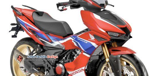 Honda Winner X 150 Fireblade เผยภาพ Render