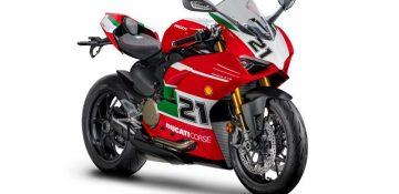 """เปิดตัว 2021 Ducati Panigale V2 """"BAYLISS 1ST CHAMPIONSHIP 20TH ANNIVERSARY SPECIAL"""""""