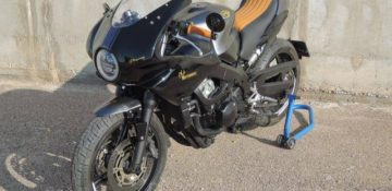 เปลี่ยน Honda CBR600F ให้กลายเป็น Cafe Racer ด้วยชุด Kit จาก Dragon TT