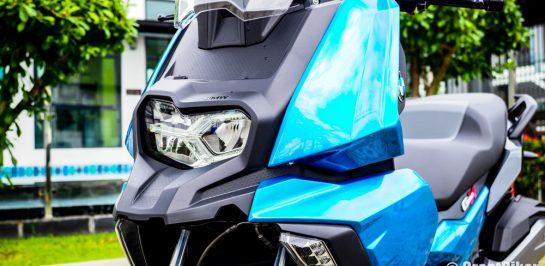 รีวิวทดสอบขับขี่ BMW C400X บิ๊กสกู๊ตเตอร์คันเก่งจากค่ายใบพัดสีฟ้า