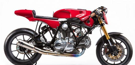 "1974 Ducati 750 Sport ""OSCAR"" ผลงานโดย Woolie's Workshop เฉลิมฉลองครบรอบ 55 ปี แบรนด์ Alpinestars"