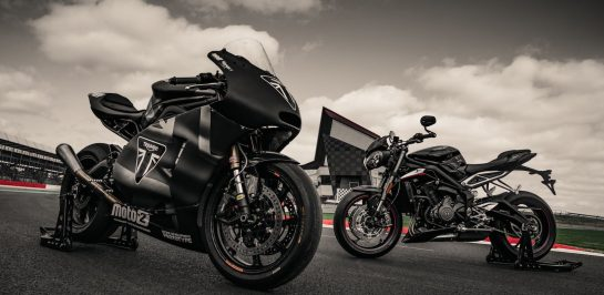 Triumph บรรลุข้อสัญญาส่งเครื่องยนต์ 765 ซีซี ในการแข่งขัน Moto2 ต่ออีก 3 ฤดูกาล